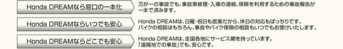 Honda DREAMなら・・・